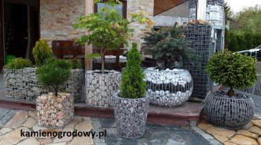 Gabionowe Elementy Dekoracyjne Fhu Bazalt Kamień