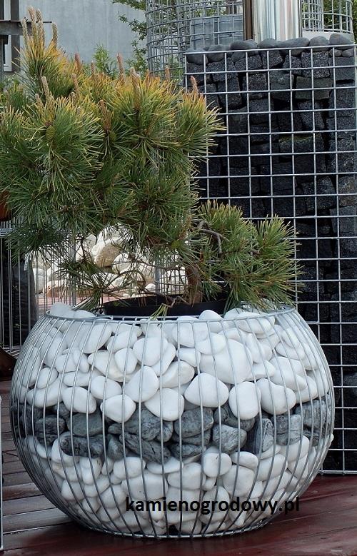 Donice Gabionowe Fhu Bazalt Kamień Ogrodowy