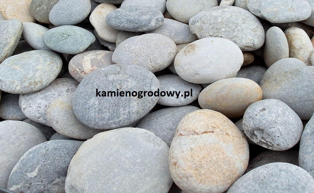 Poważnie Otoczak Płaski Szary - F.H.U. BAZALT - Kamień ogrodowy, elewacyjny VI84
